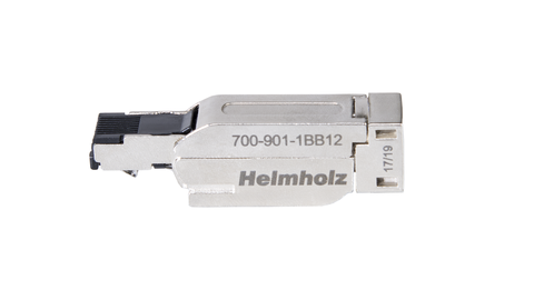 Industrial ethernet connector, RJ45, EasyConnect®, 180°