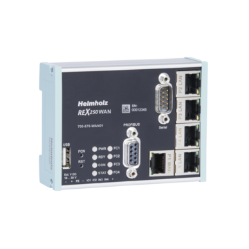 Industrial Ethernet Router, REX 250 WAN