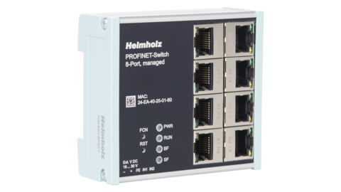 PROFINET-Switch, 8-port, managed