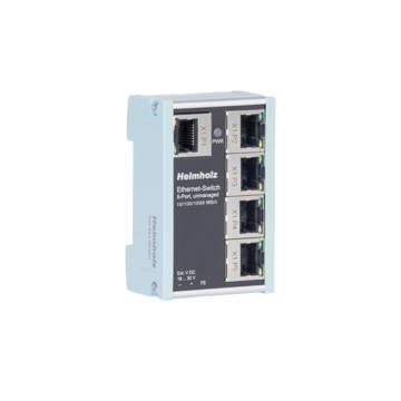 Industrial Ethernet-Switch 5-port, unmanaged, 10/100/1000 Mbps