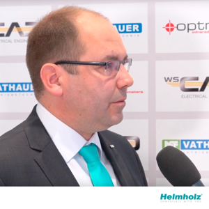 Carsten Bokholt gives an interview to german channel Konradin Industrie TV