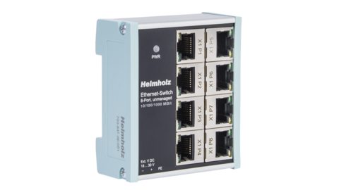 Industrial Ethernet-Switch 8-Port, unmanaged, 10/100/1000 Mbit