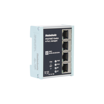 PROFINET-Switch, 4-Port, managed