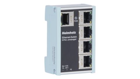 Ethernet-Switch, unmanaged, 5-Port