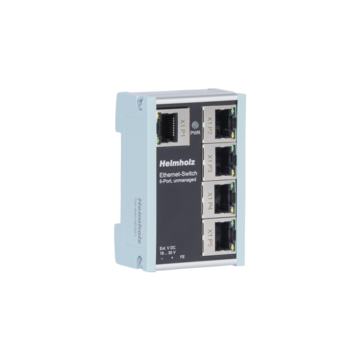 Industrial Ethernet-Switch 5-Port, unmanaged, 10/100 Mbit