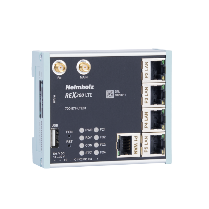 Industrial Ethernet Router, REX 200 LTE